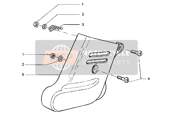 Front shock absorber cover