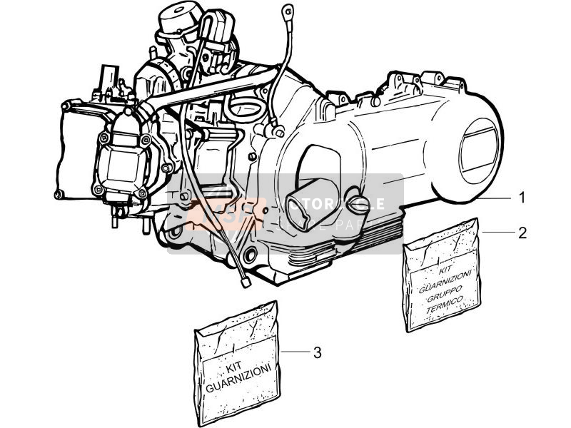 Engine, assembly