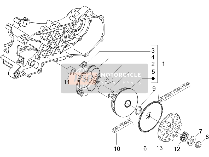 Driving pulley