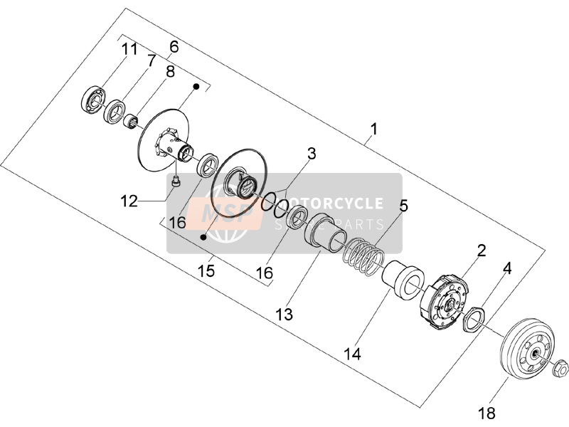 Driven pulley (2)