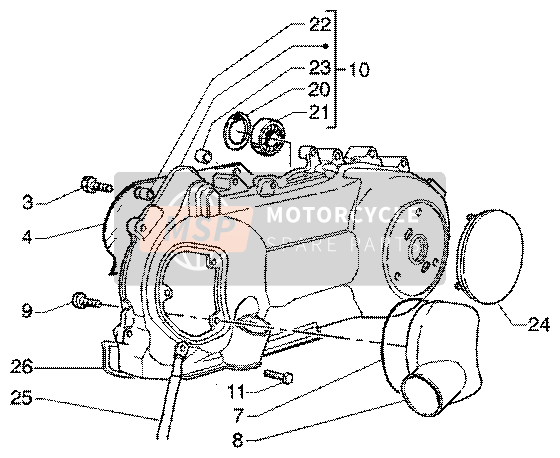 Crankcase cooling