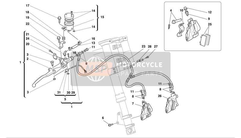 FRONT HYDRAULIC BRAKE