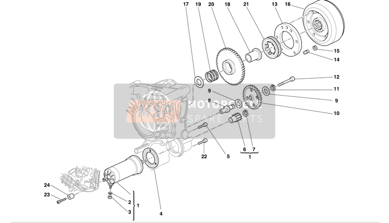ELECTRIC STARTER AND IGNITION