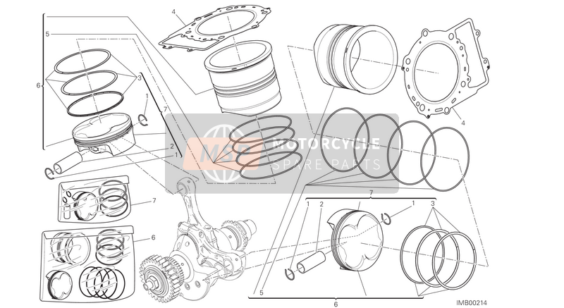CYLINDERS - PISTONS