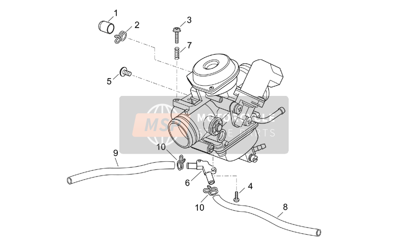 Aprilia Atlantic 125-200-250 2004 Carburettor III for a 2004 Aprilia Atlantic 125-200-250