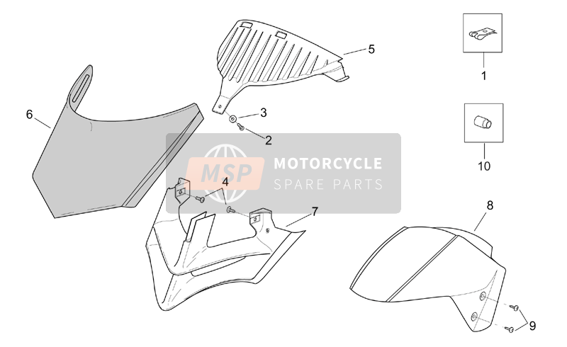 Front body - Front fairing (2)
