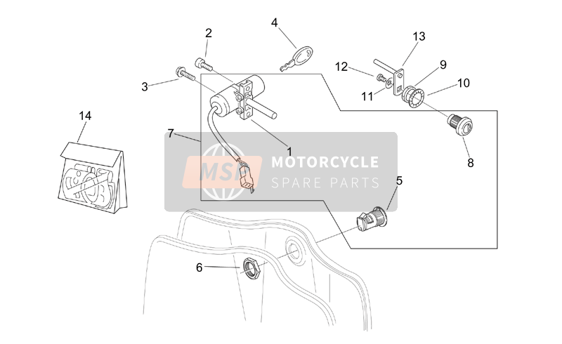 Decal and Lock hardware kit