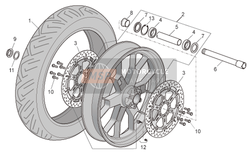 Front wheel Factory
