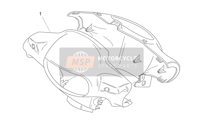Front body I - Headlight support