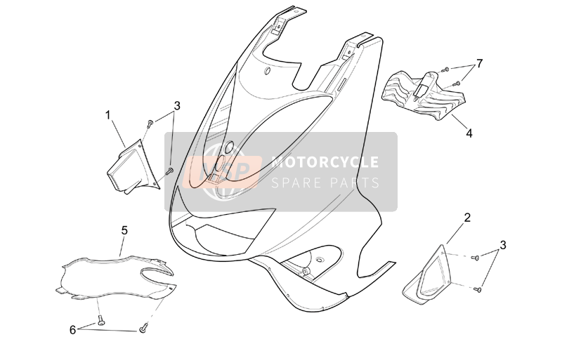 Front body - Intakes