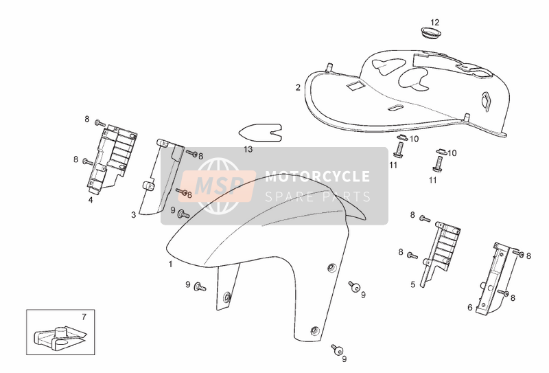 Front body - Front mudguard