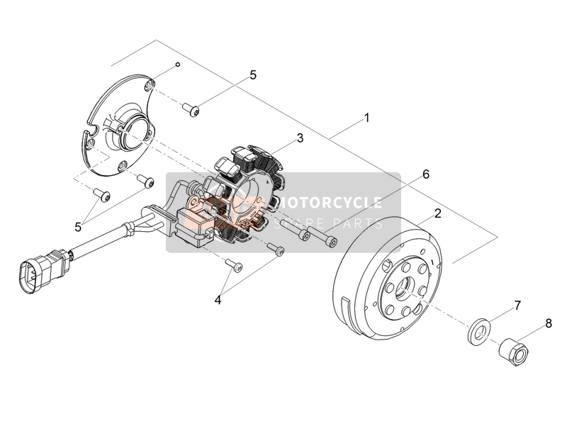 Cdi magneto assy / Ignition unit