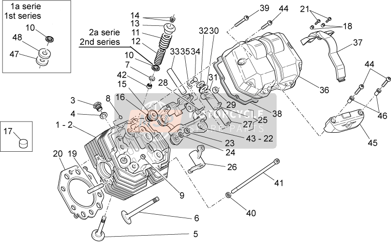 Cylinder head and valves II