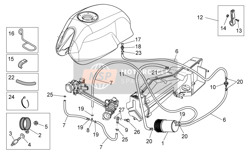 Kraftstoffdampf-Rückgewinnungssystem