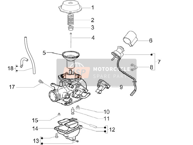 Carburetor's Composants
