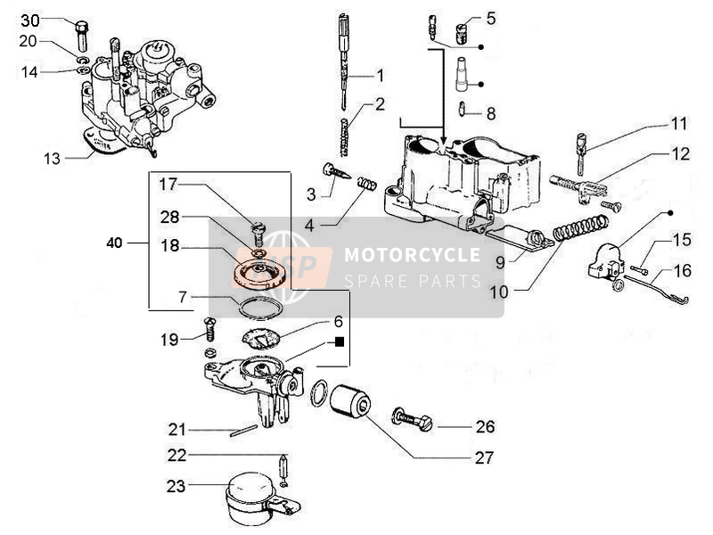 Carburetor's components