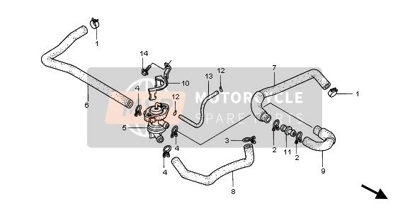 AIR INJECTION CONT. VALVE