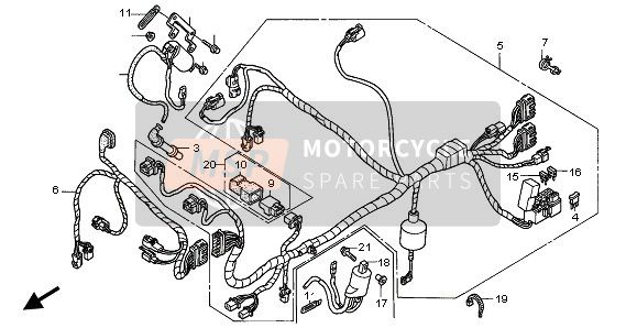 WIRE HARNESS (FRONT)