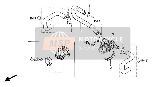 AIR INJECTION VALVE