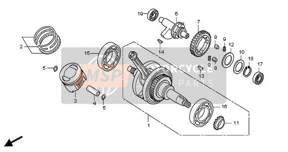 CRANK SHAFT & PISTON