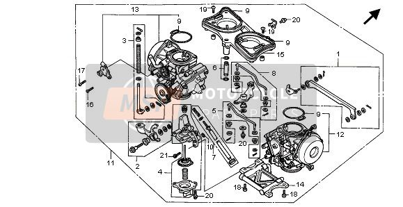 CARBURETOR (ASSY.)