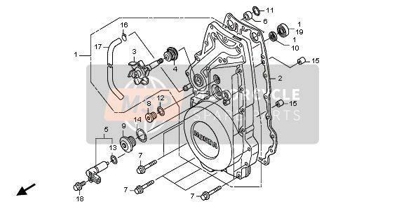 FRONT CRANKCASE COVER