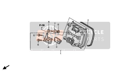 FRONT CYLINDER HEAD COVER