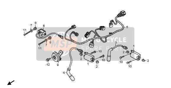 SUB HARNESS & IGNITION COIL