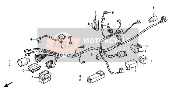 WIRE HARNESS & IGNITION COIL