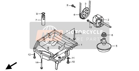 OIL PAN & OIL PUMP