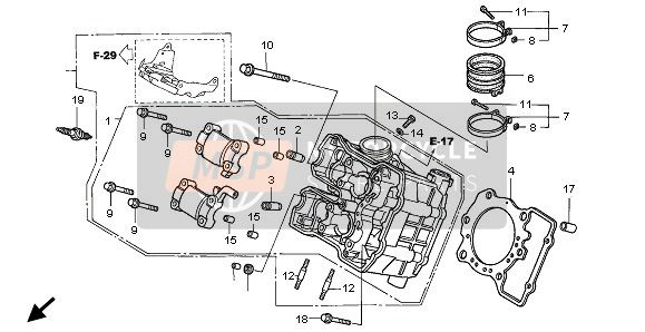 CYLINDER HEAD(FRONT)