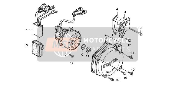 LEFT CRANKCASE COVER