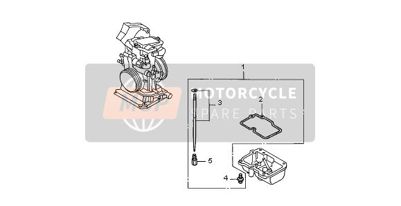 CARBURETOR OPTIONAL PARTS KIT