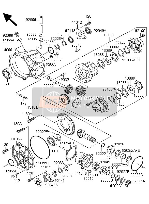 DRIVE SHAFT (DIFFERENTIAL)