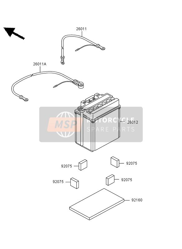 OPTIONAL PARTS (BATTERY)