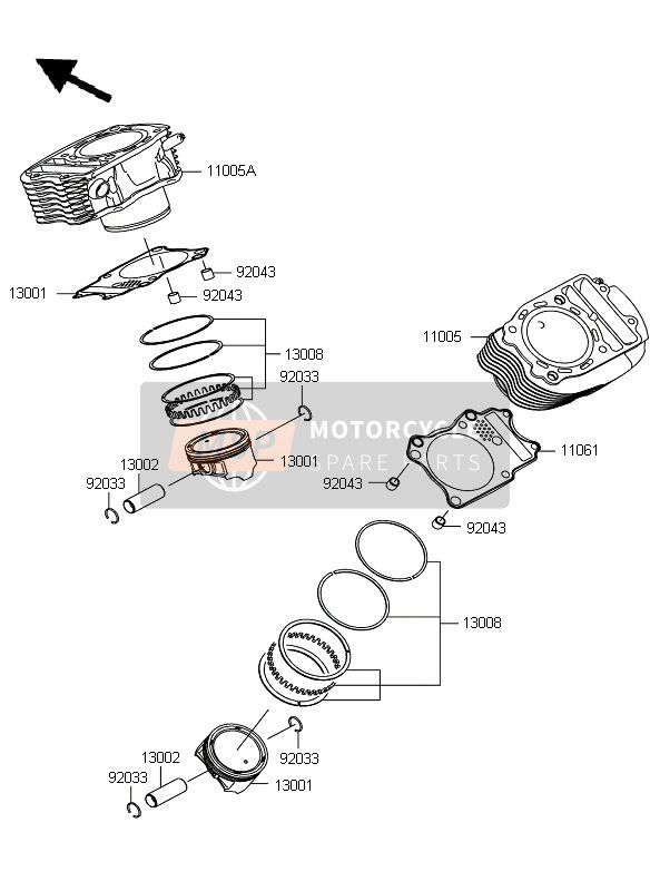 CYLINDER & PISTONS