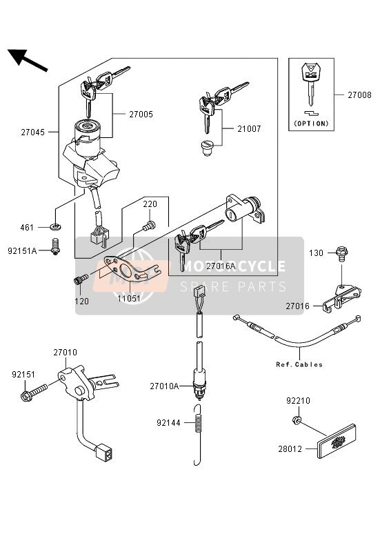 IGNITION SWITCH (GE)