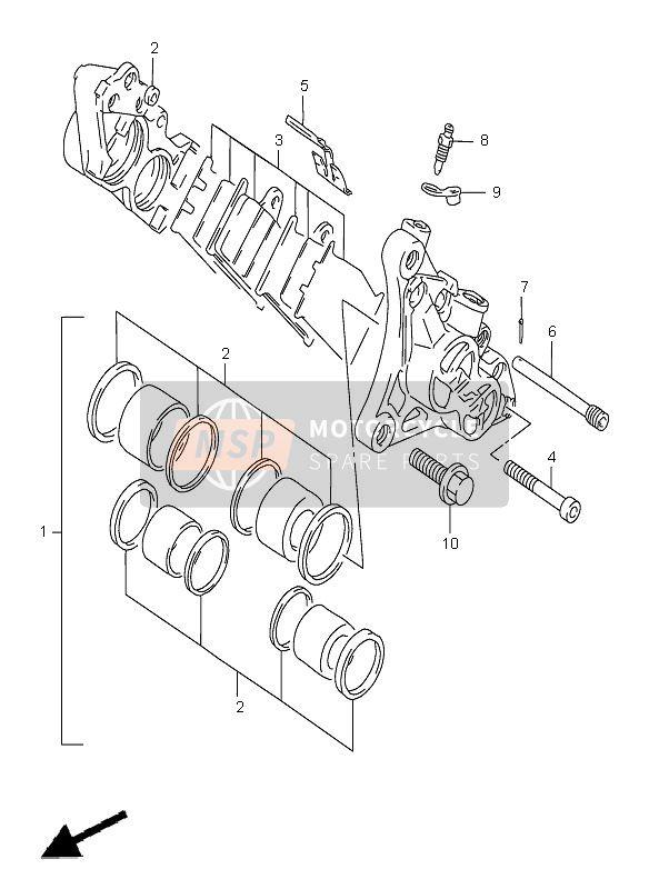 BREMSSATTEL VORNE (GSF1200-S)