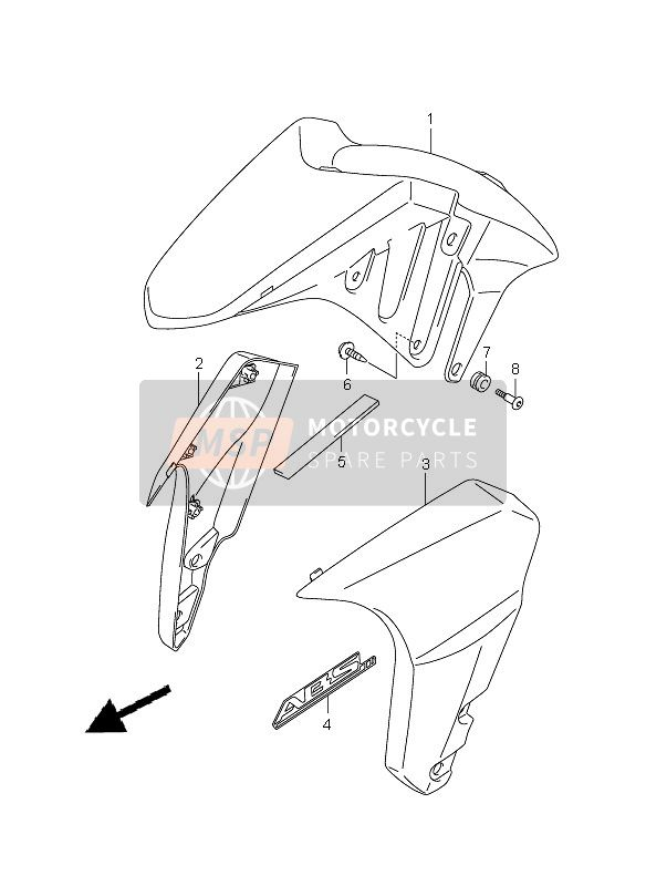 FRONT FENDER (WITH ABS)