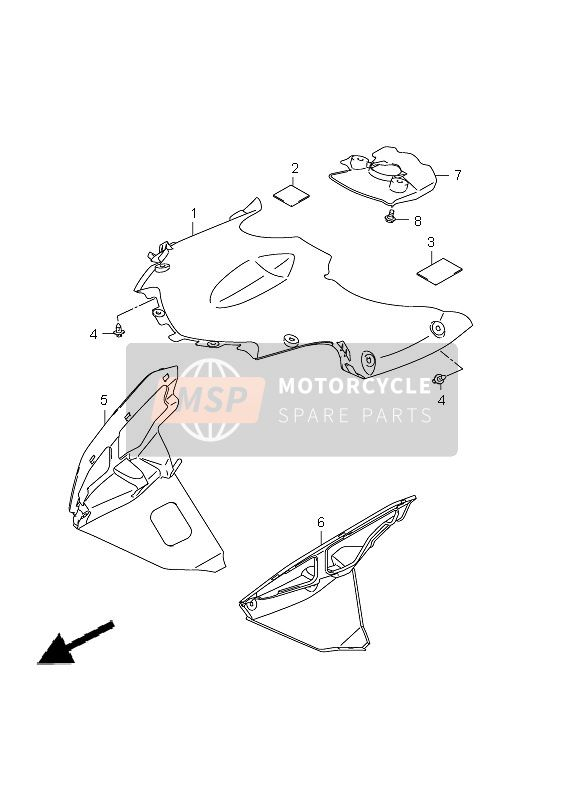 BODY COWLING COVER
