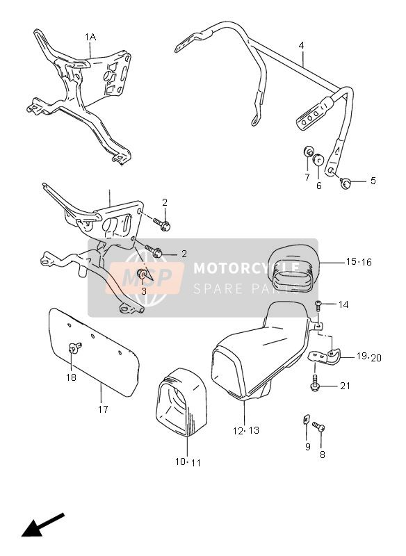 COWLING BODY INSTALLATION PARTS