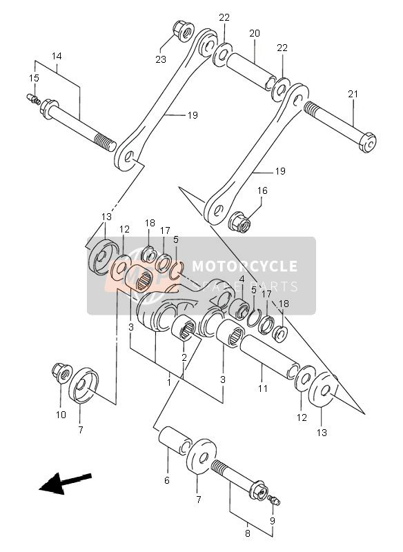 REAR CUSHION LEVER