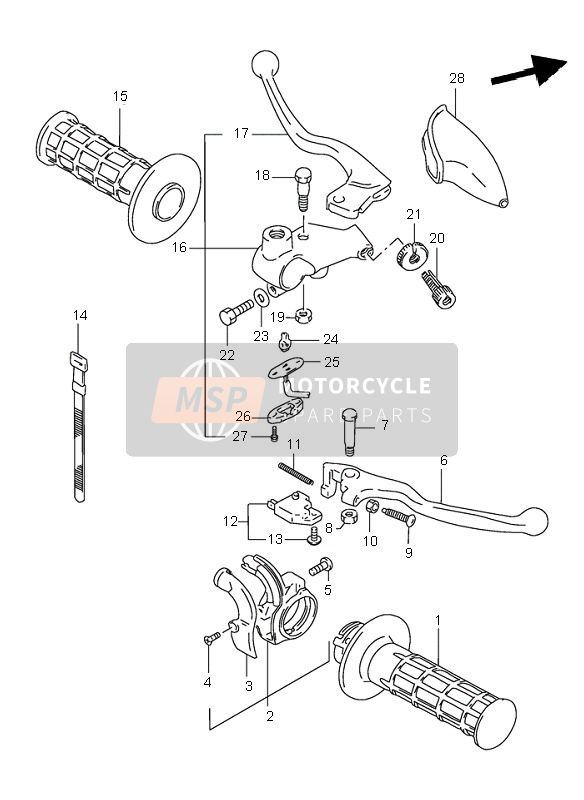 HANDLE LEVER