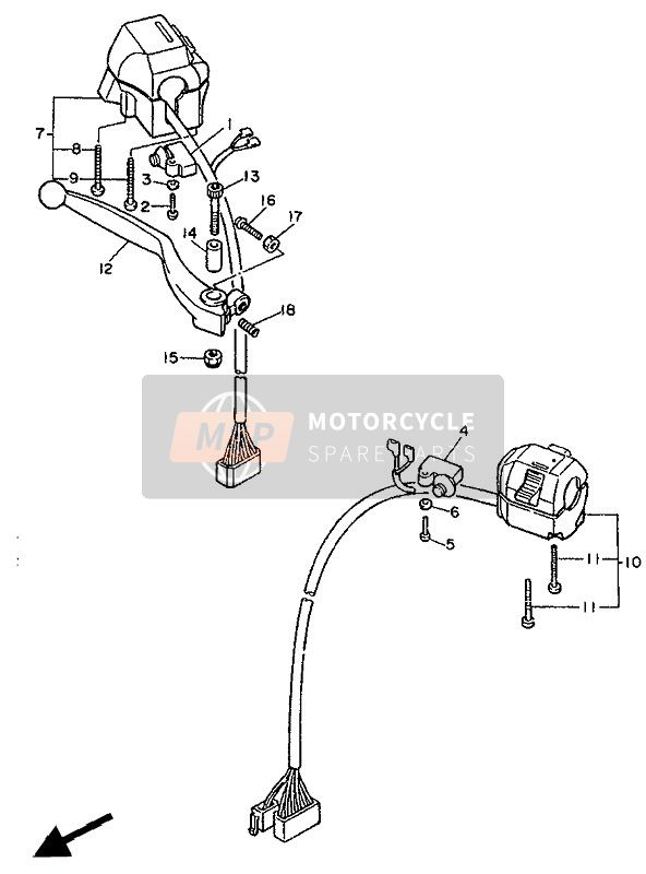 HANDLE SWITCH & LEVER