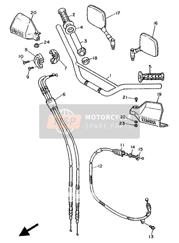 STEERING HANDLE & CABLE