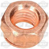 51010086100, self-locking nut M8 Cu, Husqvarna