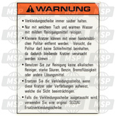 6861248B20, Label,warning,s, Suzuki