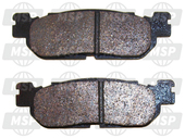 1C0258060000, BRAKE PAD KIT 2, Yamaha