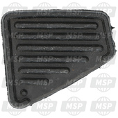 5BRF74440000, COVER, REAR FOOTREST, Yamaha